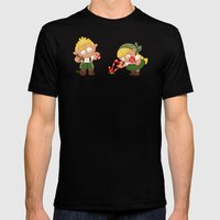 Hansel & Gretel Mens Fitted Tee Black SMALL