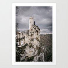 Castle Lichtenstein Art Print