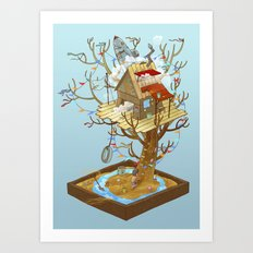 Dream Playground Art Print