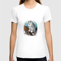Wise man Womens Fitted Tee White SMALL