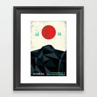 From The New World - Dvo… Framed Art Print
