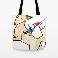 David The Gnome Tote Bag