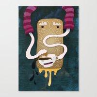 Custard Dream Canvas Print