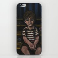 Halfway Down The Stairs iPhone & iPod Skin