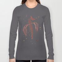 Dragon in red Long Sleeve T-shirt