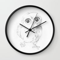 Sweet Little Owl Wall Clock