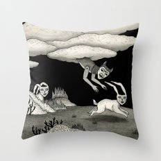 The Abduction Throw Pillow