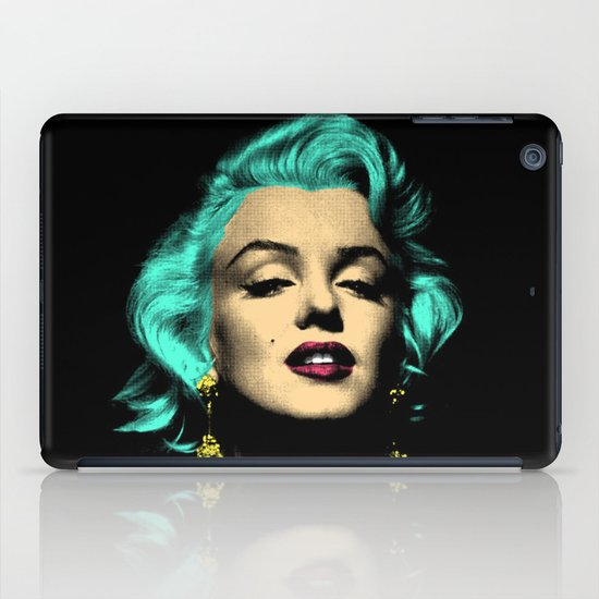 MARILYN BLUE iPad Case