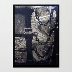 Vintage Chains Canvas Print