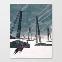 Snow Queen - Lapland Canvas Print