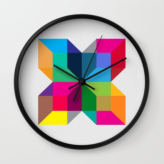 The Intersection Wall Clock