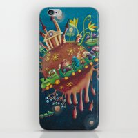 the intergalactic train iPhone & iPod Skin