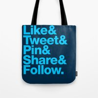 The Social Type Tote Bag