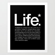 Life.* Available For A L… Art Print