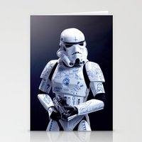 Tattooed Trooper Stationery Cards