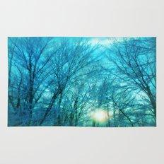 Landscape ~ Winter sunset Rug