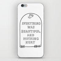 Vonnegut -  Billy Pilgri… iPhone & iPod Skin