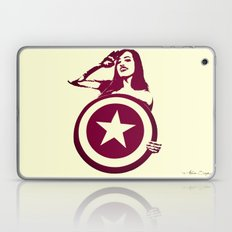 Captain Girl America Laptop & iPad Skin