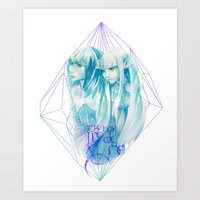 The Two Made One Art Print