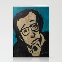 Tsch - Woody Allen  Stationery Cards