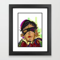 18 Framed Art Print