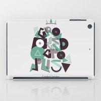 Crooked Typography iPad Case