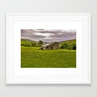 The Stone Barn Framed Art Print