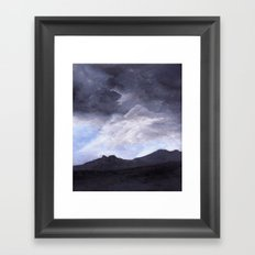 A Quarter to Five Framed Art Print