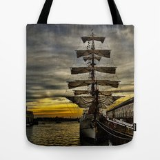 Tall Ship BAE Guayas Tote Bag