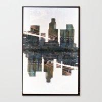 Landscapes c3 (35mm Double Exposure) Canvas Print