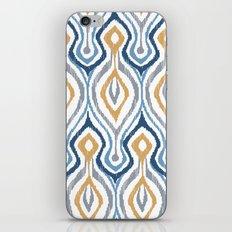 Sketchy Ikat - Saddle iPhone & iPod Skin