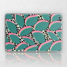 80s leaf pattern Laptop & iPad Skin
