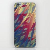 Modern Aquatic Nightsongs iPhone & iPod Skin