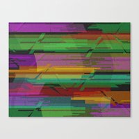 CHAOS 1.0 Canvas Print