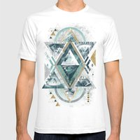 Eyesosceles Mens Fitted Tee White SMALL