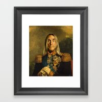 Iggy Pop - Replaceface Framed Art Print