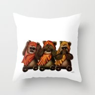 STAR WARS The Three Wise… Throw Pillow
