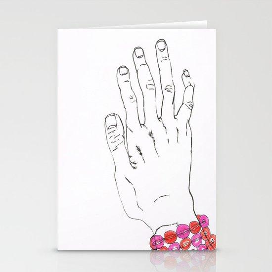 Bracelet Stationery Card
