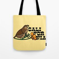 California Quail Tote Bag