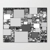 Square World Canvas Print