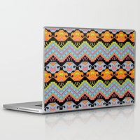 aztec Laptop & iPad Skins featuring Aztec by Phoebe E