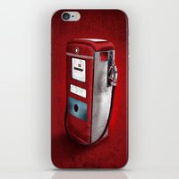 Red Gasoline's Bomb Retr… iPhone & iPod Skin