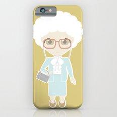 Girls in their Golden Years - Sophia iPhone 6s Slim Case