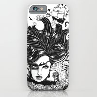 iPhone & iPod Case featuring Pirate Queen by Vivian Lau