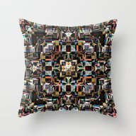 Colorful Geometric Manda… Throw Pillow