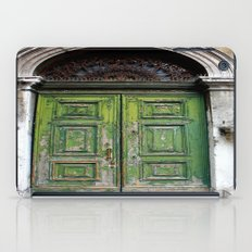 Green Door iPad Case