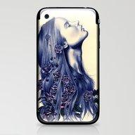 iPhone & iPod Skin featuring Bloom by KatePowellArt