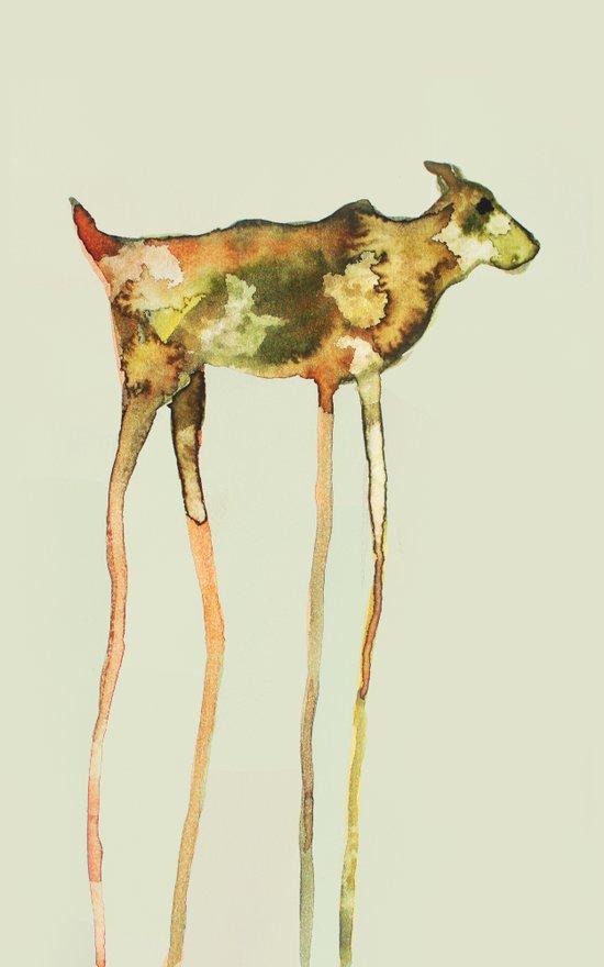 sighthound Art Print