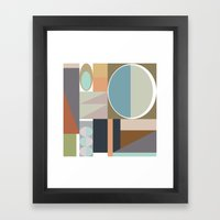 MCM Modestly Abstract Framed Art Print