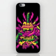BEASTBURGER 2: ELECTRIC BURGERLOO iPhone & iPod Skin